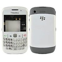 EDGE PLUS BLACKBERRY 8520 CURVE HOUSING BODY PANEL - WHITE