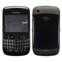 EDGE PLUS BLACKBERRY 8520 CURVE HOUSING BODY PANEL - BLACK