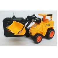 No.6805 Wired RC Radio Remote Control Excavator Truck Car Toy Game Fun Gift