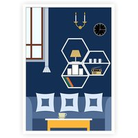 Home Art Decor Gift For Mom New Home Poster