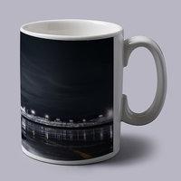 Silver Mercedes Super Car Coffee Mug