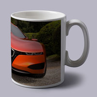 Red Bmw Supercar Inspired Stunning Coffee Mug