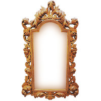 Italian Carved Wooden Mirror