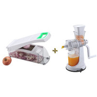 Onion And Vegetable Chopper, Cutter And Fruit Juicer Combo Offer - 6458116