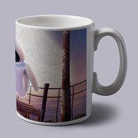 Wall E In Bench Coffee Mug