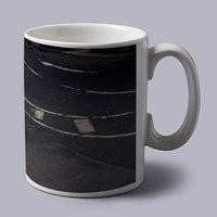 White Ferrari In Italy Coffee Mug