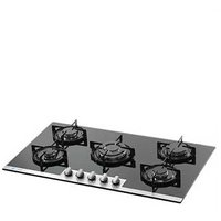 KAFF N 905 BGF Black Tempered Glass 5 B Built-in Hob Built In Hob