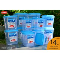 CHETAN 14 Pcs AIRTIGHT KITCHEN STORAGE CONTAINERS  @ Rs 1099/Only.