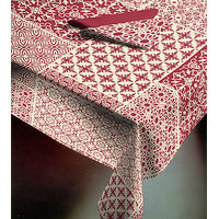 Table Cover Labyrinth Cotton Table Cover Table Cloth