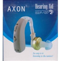 Axon F-137 Hearing Care Digtital Aids Aid Behind The Ear Sound Amplifier