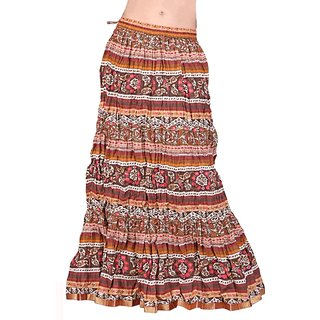 Shoppingtara  Colourful Cotton Long Skirt 113