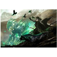 The Ranger's Spirit From Guild Wars 2 Video Game Poster 18x12 (A3 Size) - 6477648