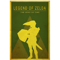 Legend Of Zelda Video Game Poster 12x18 (A3 Size)