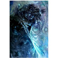 The Lich King From World Of Warcraft Video Game Poster 18x12 (A3 Size)