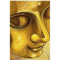 Buddha Gold Poster 12x18 (A3 Size)