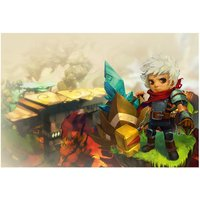Kid From Bastion Video Game Poster 18x12 (A3 Size)