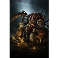 War's Wrath From Darksiders Video Game Poster 12x18 (A3 Size)