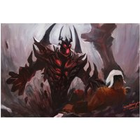 Shadow Fiend Nevermore From Dota 2 Video Game Poster 18x12 (A3 Size)