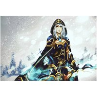 Drow Ranger From Dota 2 Video Game Poster 18x12 (A3 Size)