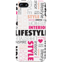 DailyObjects Design Type Case For IPhone 5/5S