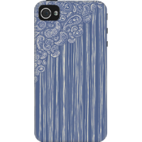 DailyObjects The Unraveling Of Paisley Lace Case For IPhone 4/4S