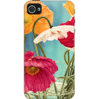 DailyObjects Vintage Toned Poppy Flower Case For IPhone 4/4S