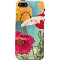 DailyObjects Vintage Toned Poppy Flower Case For IPhone 5/5S