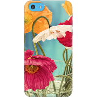 DailyObjects Vintage Toned Poppy Flower Case For IPhone 5C