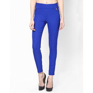 Sukuma Designer Stretchable Dark Blue Jegging