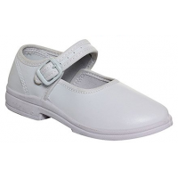 Greenwood School Formal Shoes (Girls) - White