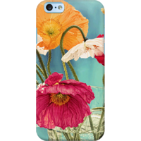 Dailyobjects Vintage Toned Poppy Flower Case For Iphone 6 Multicolor