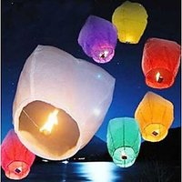 India Sky Lanterns - Pack Of 20 - 6514826