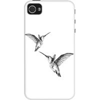 Dailyobjects Birdie Flight Case For Iphone 4/4S White/Cream