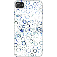 Dailyobjects Jewel Bubbles Case For Iphone 4/4S White/Cream