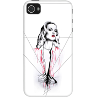 Dailyobjects Undressed Emotions Case For Iphone 4/4S White/Cream