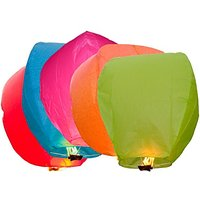 India Sky Lanterns - Pack Of 50 - 6526312