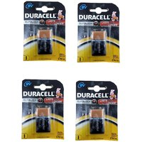 Duracell 9V Battery  MN1604 6LR61 Pack Of Four