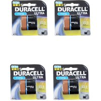 Duracell CR-P2 223 LITHIUM BATTERY 6V PACK OF FOUR