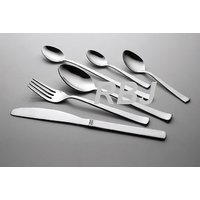 24 Piece Fully Stainless Steel Cutlery Set Heavy Gauge Mirror Finish