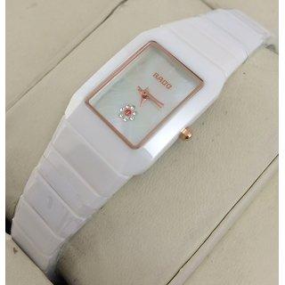 Buy Rado Jublie High-Tech White Ceramic Womens Swiss Watch With OG Box