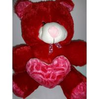 AGS 160, Teddy Bear Big Size 2 Feet Valentine,love, Friend, Gift
