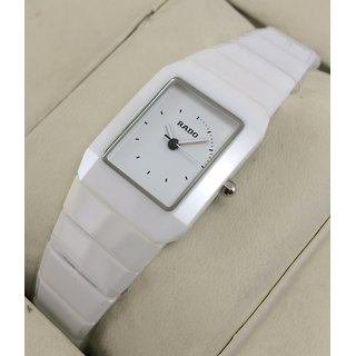 Buy Rado Jubliee High-Tech White Ceramic Womens Swiss Watch With OG Box