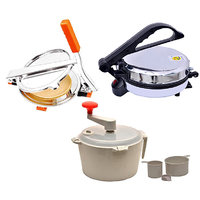 ZEOMARK JUMBO ROTI MAKER & DOUGH MAKER WITH PURI MAKER