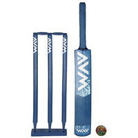 Avm Blue Cricket Set (Bat Size 3)