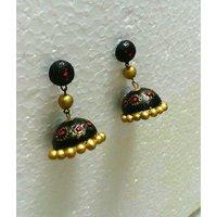 Aakritis Terracotta Jewellery - Earring - Jumkas