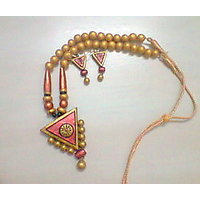 Aakritis Terracotta Jewellery - Daily Wear Necklace - 6614170