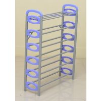 Nilkamal Redley 6Layer Iron Shoe Rack (Blue)