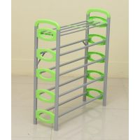 Nilkamal Redley 5Layer Iron Shoe Rack (Green)