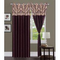 HomeSazawat Set Of 2 Beautiful Eyelet Door Curtain