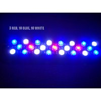 3 Red 10 Blue 10 White Combined LED Aquarium Light LED Light, Driver+Heatsink